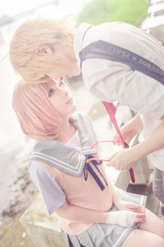 Kyoukai no Kanata (境界の彼方) ~ Mirai Kuriyama cosplay (栗山 未来) ~ ♡ Cosplay Anime, Epic Cosplay, Cosplay Diy, Cosplay Makeup, Amazing Cosplay, Halloween Cosplay, Cosplay Costumes, Cosplay Ideas, Couples Cosplay