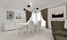 Classic Interior, Design Projects, Chandelier, Ceiling Lights, Curtains, Interior Design, Home Decor, Nest Design, Vintage Interiors