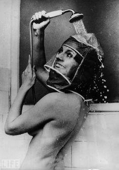 The Shower Hood, 1970.