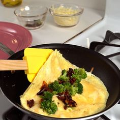 50 inspiring omelet filling ideas maybe an egg white omelette with goat cheese, caramelized onions, sautéed spinach, and shitake mushrooms?