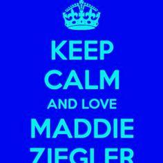 I LOVE MADDIE ZIEGLER !!:)