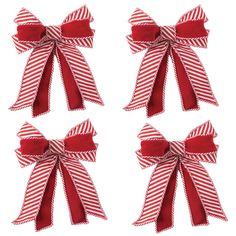 Holiday Traditions, Red And White, Great Gifts, Trees, Bows, Touch, Traditional, Ornaments, Gender