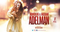 MONSIEUR & MADAME ADELMAN affiche – Recherche Google Film, Google, Movie, Movies, Film Stock, Film Movie, Films