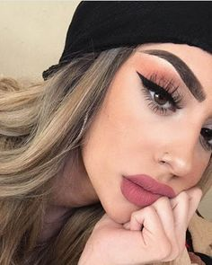 Maquillaje makeup art, beauty makeup, hair makeup, hair beauty, makeup on f Cute Makeup, Gorgeous Makeup, Pretty Makeup, Simple Makeup, Natural Makeup, Perfect Makeup, Creative Makeup, Makeup Goals, Makeup Inspo