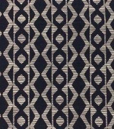 Azure Collection- Jacquard Zig Zag Navy Ivory