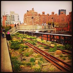 Take a walk on the High Line. Only three blocks away from our #Meatpacking location. #GetUpClose