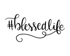 Free SVG cut file - BlessedLife