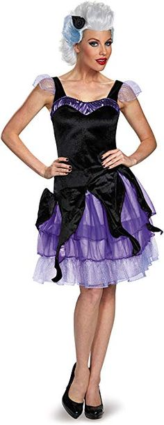 5b7ccd9fb3 Amazon.com  Disguise Women s Ursula Deluxe Adult Costume