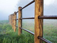 3 Rail Farm Fence