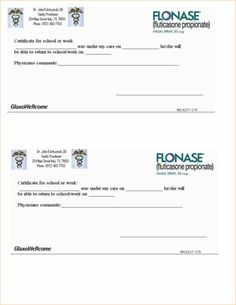 doctors notes for work fake doctors note pdf