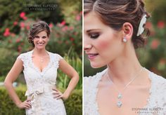 Formally Yours was featured in a photo shoot for Everything Angelic Jewelry - the bride is wearing Bronwyn by Maggie Sottero