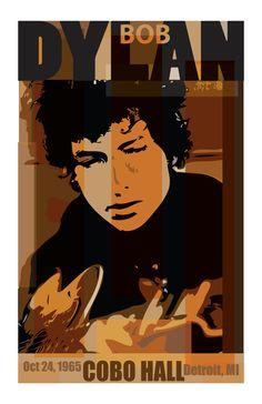 Bob Dylan Poster by TimGralewski on Etsy