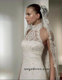 it doesn't necessarily serves as a wedding dresses