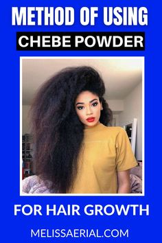 The best method of utilizing chebe powder for hair growth. #chebepowder. #hairgrowth