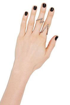Ziggy Pavé Ring Set | Shop Jewelry at Nasty Gal