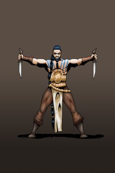 Khal Drogo Character