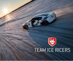 Skiers Beware! The #Nissan GT-R Hits The Slopes. Click on the image to watch it cause chaos! #carporn