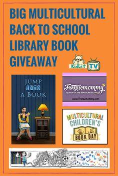Big Multicultural Back to School Book Bundle Giveaway