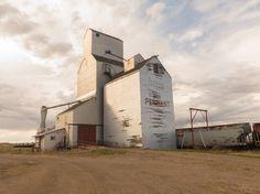 Pennant grain elevator