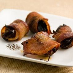 Bacon-wrapped dates recipe from a farmer's kitchen