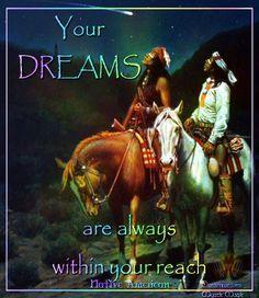 Your dreams....