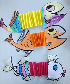 Accordion animals craft idea for kids | Crafts and Worksheets for Preschool,Toddler and Kindergarten