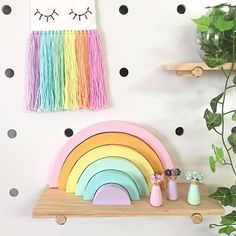 Creative Rainbow Stacker Montessori Educational Toy 🌈 Promotes your child Creativity and imagination. 🌈 Amazing Learning Tool 🌈 A high-quality large sunset rainbow building block.hand-polished and corners, which makes the building blocks less likely to break and will not scratch your hands and children.The most original quality of the wood is preserved, and a layer of non-toxic water-based paint is sprayed so that you can see the grain of the wood while playing. Wooden Toy Shop, Wooden Blocks Toys, Wooden Toys, Diy Educational Toys, Newborn Room, Kids Teepee Tent, Boy Bath, Education And Development, Wooden Rainbow