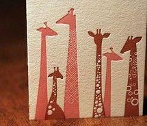 giraffe graphic design