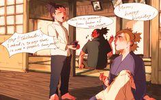 Shikadai, Shikamaru and Temari