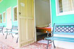Jademar Cabins room entrance Drake Bay, Puntarenas Costa Rica #hotel #review #family #vacation