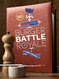 Burger Battle Royale - Best Burgers 2013 Rachael Ray Magazine  Atlanta, Portland, Alabama, New York, Austin, LA