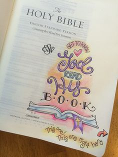 It's so simple! And so cute! Bible journalling gives me a fresh, new way to look at God's Word. Not to mention an awesome drawing project!!