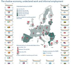"""Trabajo """"En Negro"""" en la EU 2015 http://www.europarl.europa.eu/news/en/news-room/20160202STO12430/Pirinski-People-in-undeclared-work-are-denied-basic-social-and-labour-rights"""