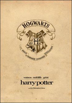 Harry Potter Film Poster by ~Al-Pennyworth on deviantART #harrypotter #minimal