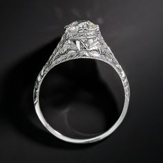 1.01 Carat Diamond Early-20th Century Neoclassical