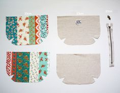 Zippered Pouch Tutorial ~