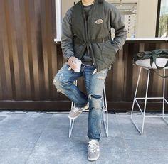 Khaki Jacket, Military Jacket, Jackets, Fashion, Down Jackets, Moda, Field Jacket, Fashion Styles, Military Jackets