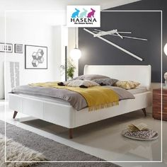 Hasena Dream-Line Bett Ciara mit Kopfteil Obag und Fusselement Masi Android Phone Wallpaper, Betta, Bedroom Bed, Design, Furniture, Bedding, Interior, Home Decor, Twin Size Beds