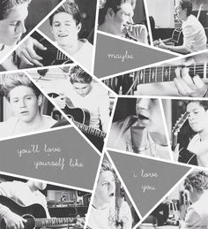 When I first heard Niall singing in Little Things, I couldn't even control how hard I was crying because he's so darn perfect!!!