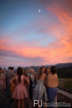 Tehama Golf Club, Carmel, CA Perfect Sky for Cocktail Hour Peer Johnson Photography