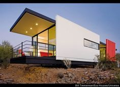 From The Daily Green:  These exciting and comfortable designs from the new book Small Eco Houses show whats possible, and sustainable, in 1,500 square feet or less. Efficient light bulbs, non-toxic furniture and Energy-Star certified appliances can certainly reduce your familys environmental impact