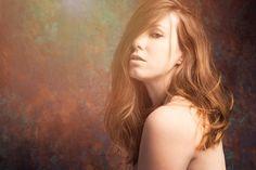 Petra in color - Portrait in color.