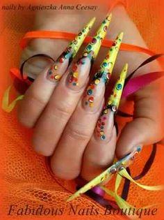 Stiletto nails #design