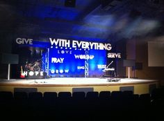 Examples in Foam | Church Stage Design Ideas