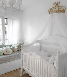 Searching for #nurseryinspo that's sweet and subtle? Search no more for this darling space by @ilkinucanunsal.  Double tap if you love it as much as we do.  October 10 2017 at 03:14PM