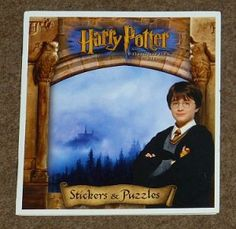 Harry Potter and the Philosopher's Stone Stickers & Puzzles     Op voorraad   € 3,95