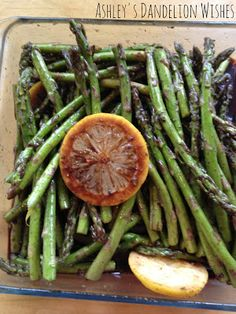 Ashley's Dandelion Wishes: Grilled Balsamic Asparagus