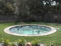 Hidden Pool.  It costs 30% more than a normal pool install.  Definately on my wish list!!!