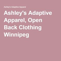 ec24f03ccc 26 best Adaptive Clothing images on Pinterest