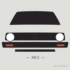 VW Golf MK2 simple front end design